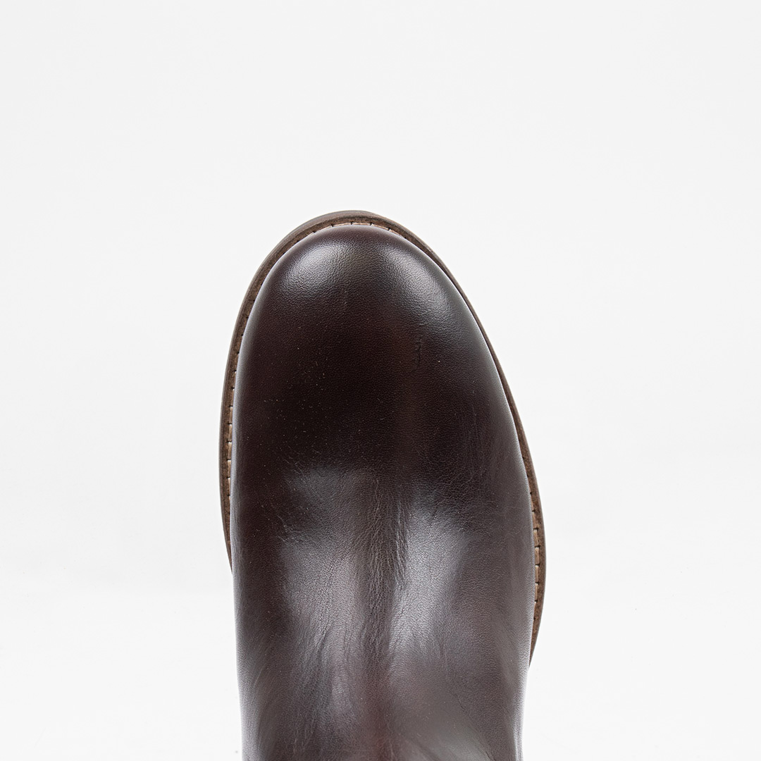 Style: Halligan W SMU Leather BROWN