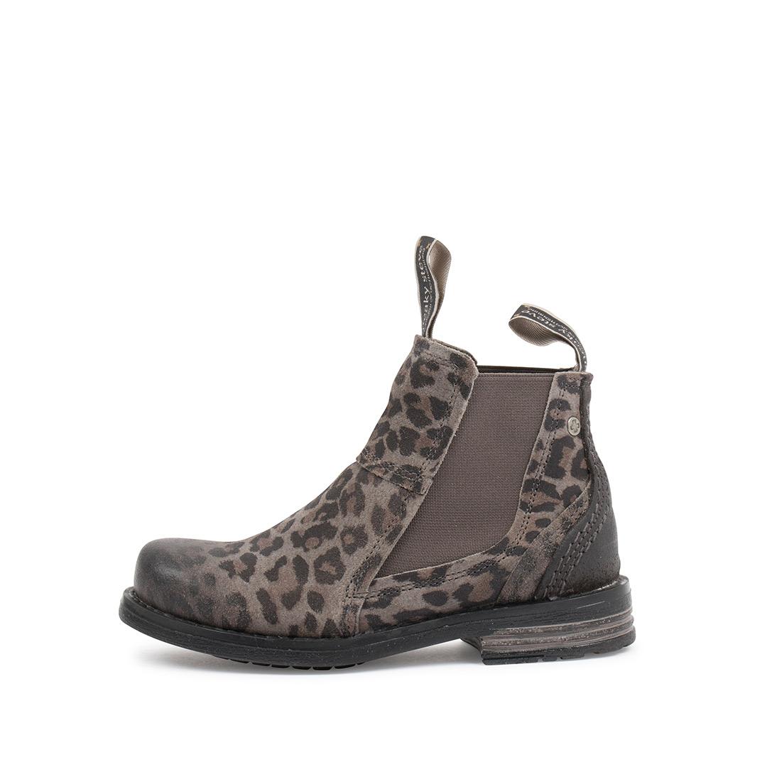 Style: Lance Kids Grey Leopard | Size 30-35