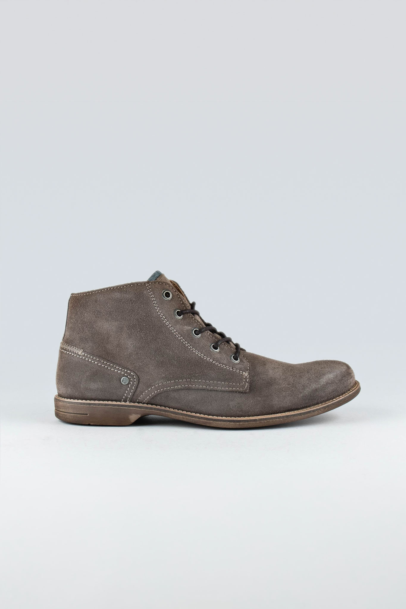 Crasher Taupe Suede