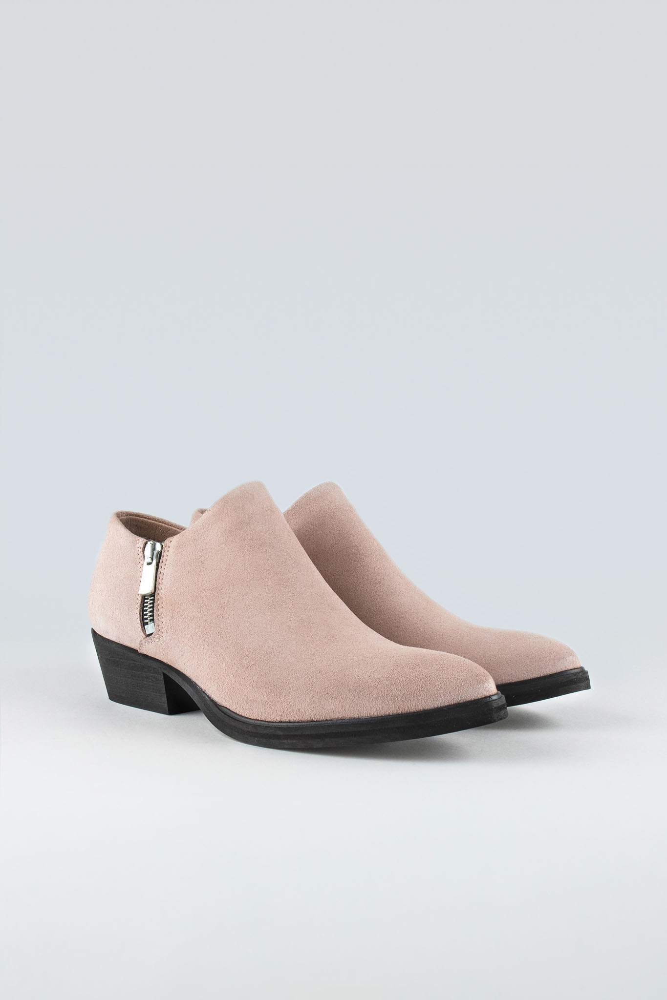 Dingy W Suede Pink