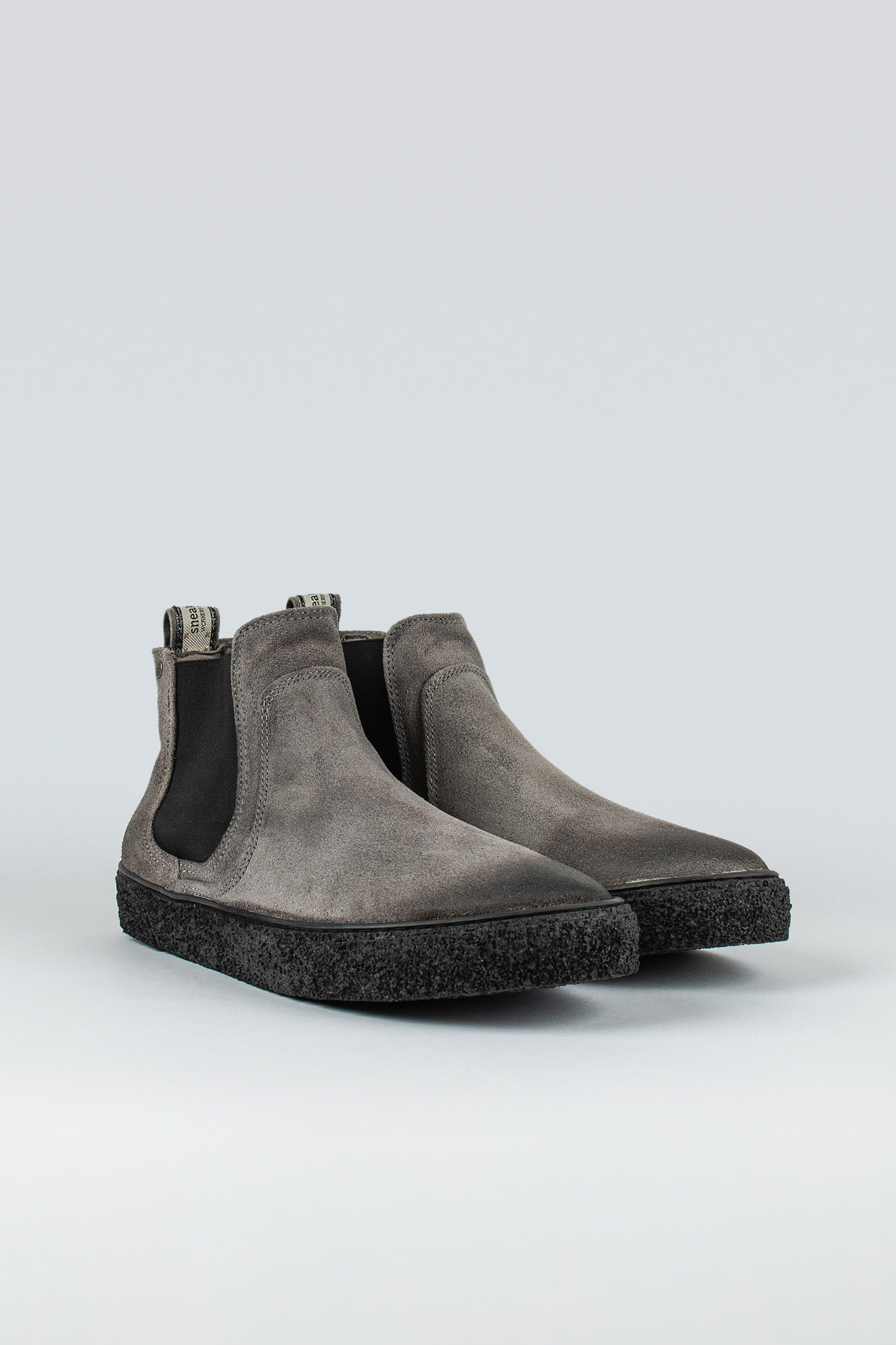 Sluggish Grey Suede