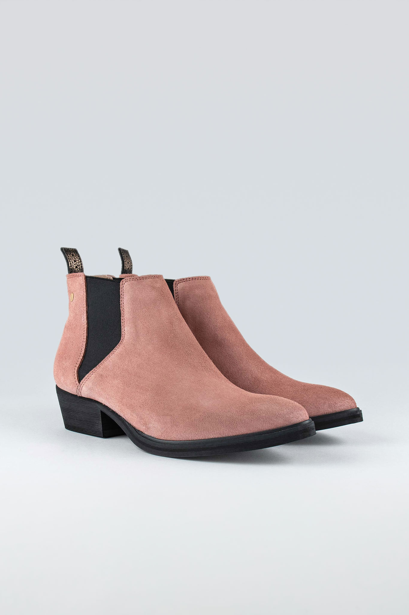Whole W Suede Old Pink