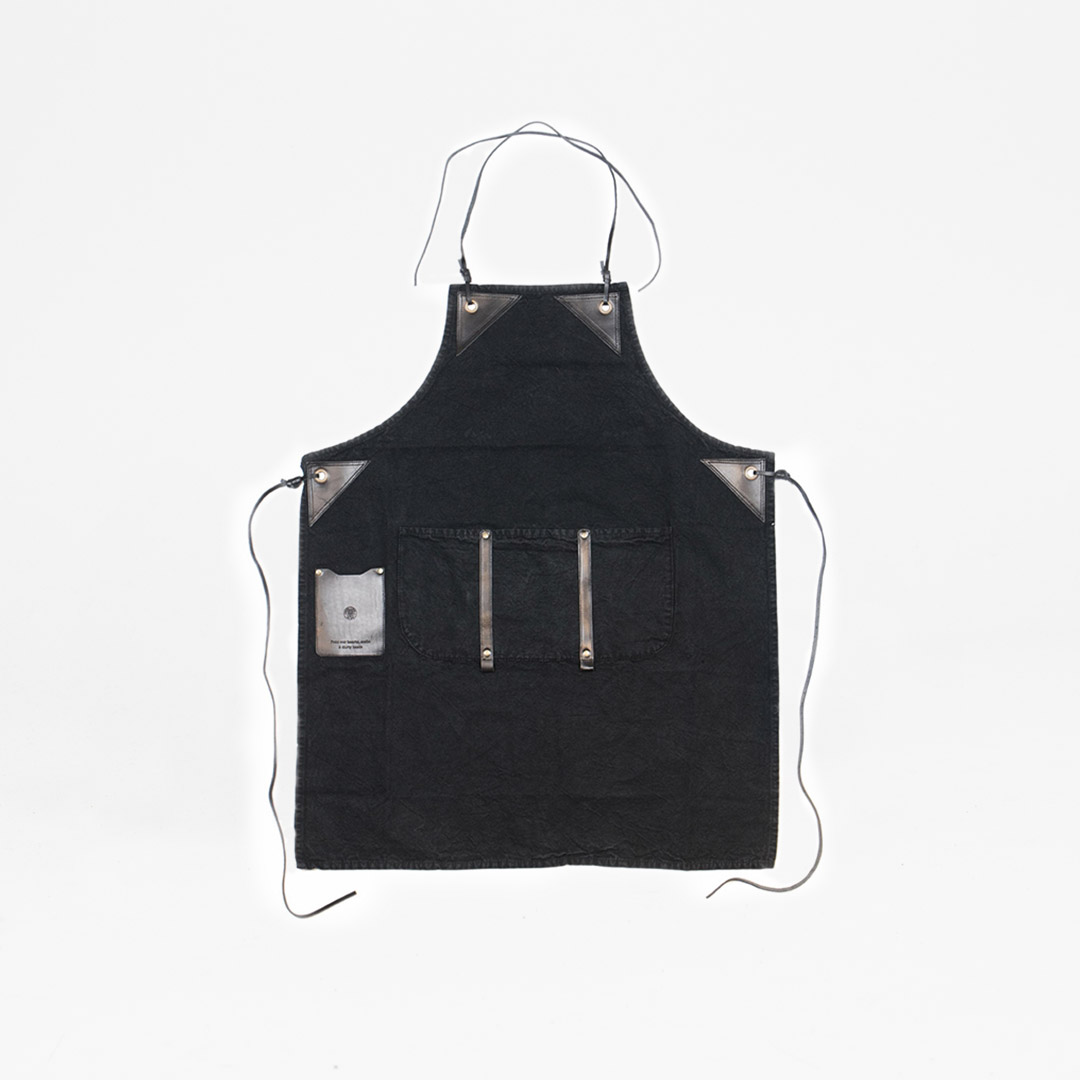 Worker Apron Black