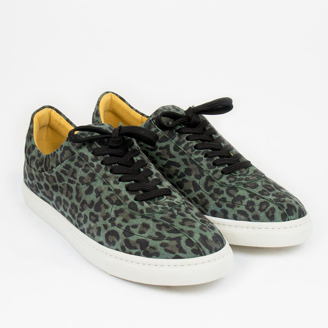 Style: Zid Dk Green Leopard